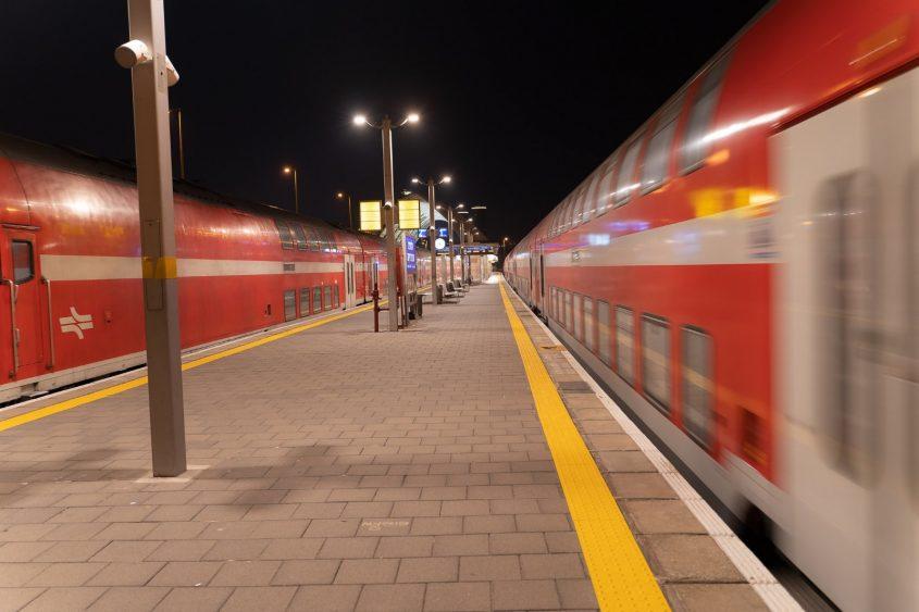רכבת ישראל. צילום: CloudViewצילומי אוויר