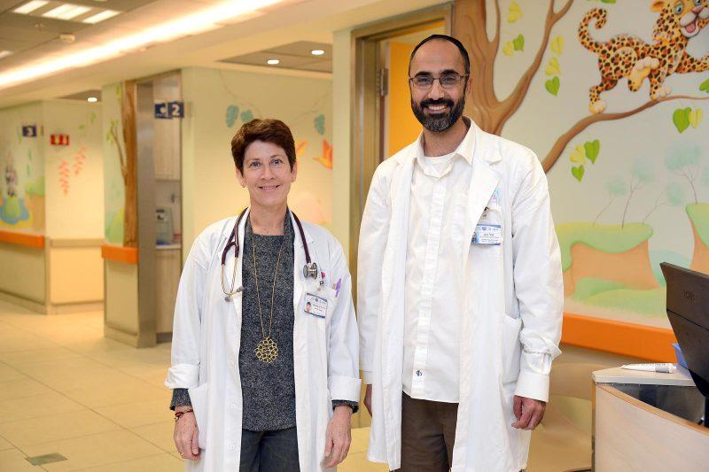 הרפואה הטובה ביותר למטופלים. דר שטופמן ויובל כהן. קרדיט: צילום רפואי ברזילי