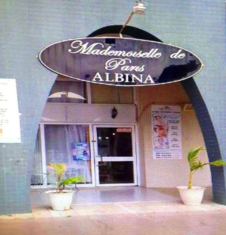 המכון של אלבינה ברחוב אלי כהן. מתוך פייסבוק