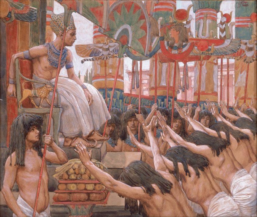 יוסף במצרים, ציור מאת ג'יימס טיסו