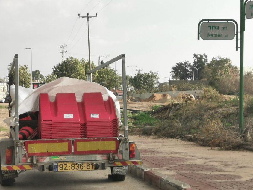המחסום ברחוב הנמר