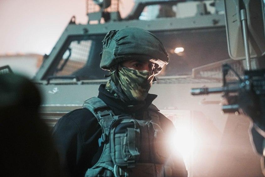 """שוטר מג""""ב. צילום: דוברות המשטרה"""