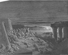 פרשת השבוע. מכת חושך בציורו של גוטסב דורה. מתוך ויקיפדיה