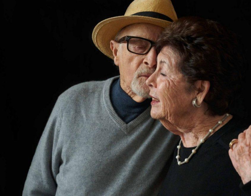 ג'וזף ואידה פל. צילום: לורי אדמס-פיק