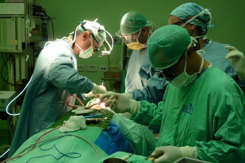 חדש בברזילי: שחזורי ראש-צוואר ביחידת כירורגיית פה ולסתות. צילום רפואי ברזילי