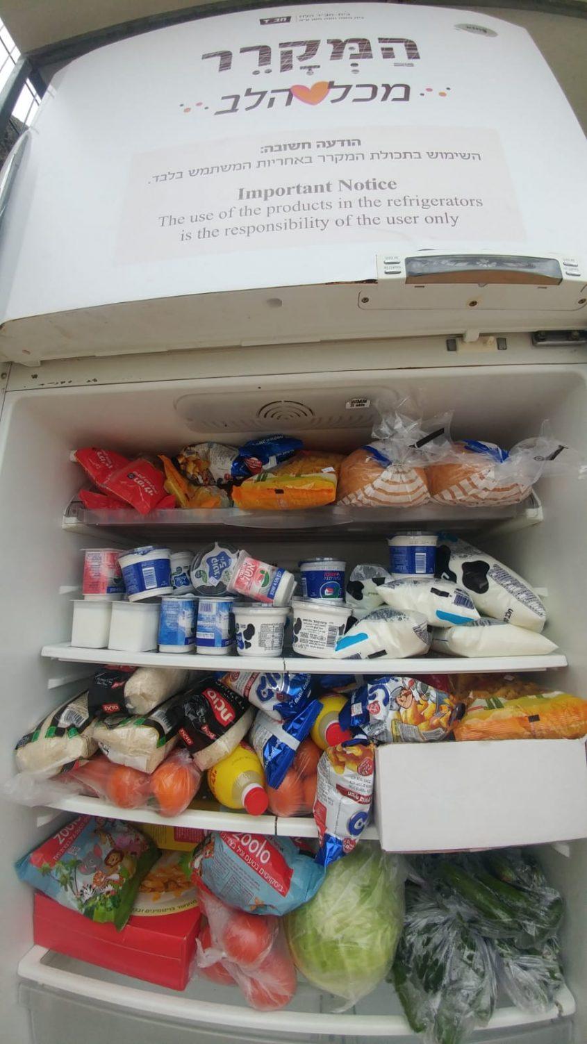 המקרר מתרוקן ומתמלא