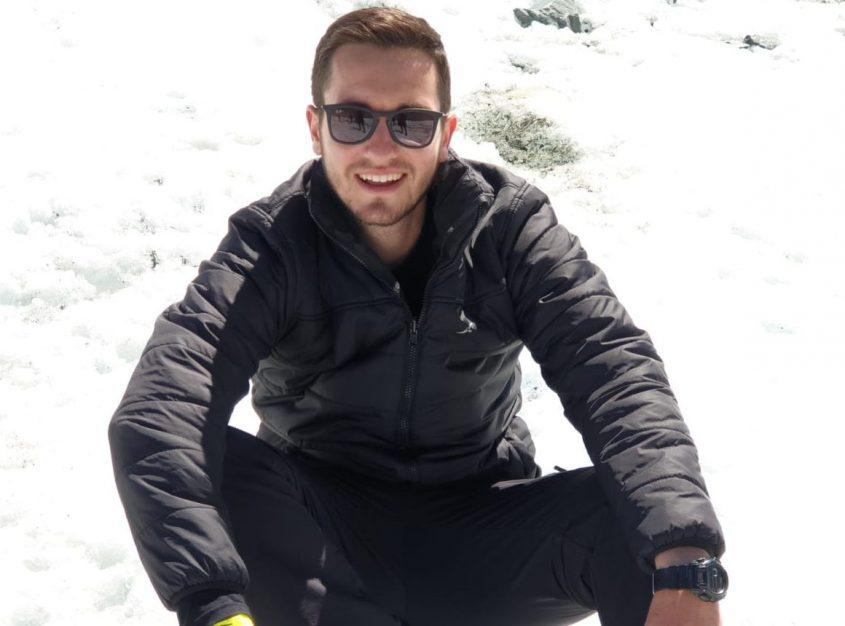 יגאל פסחוביץ בטיול