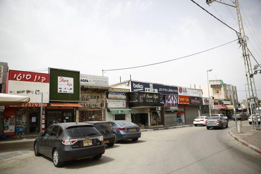 """רחוב צה""""ל. צילום: פבל"""