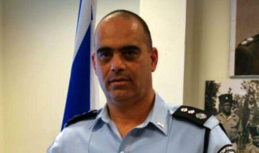"""נצ""""מ רונן אבניאלי, המפקד החדש של מרחב לכיש. צילום: דוברות המשטרה"""
