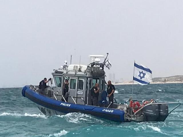 השיטור הימי. צילום: דוברות המשטרה