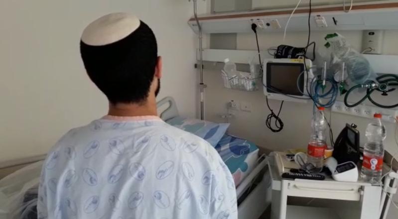 רועי יקותיאלי, החולה האחרון במחלקת הקורונה
