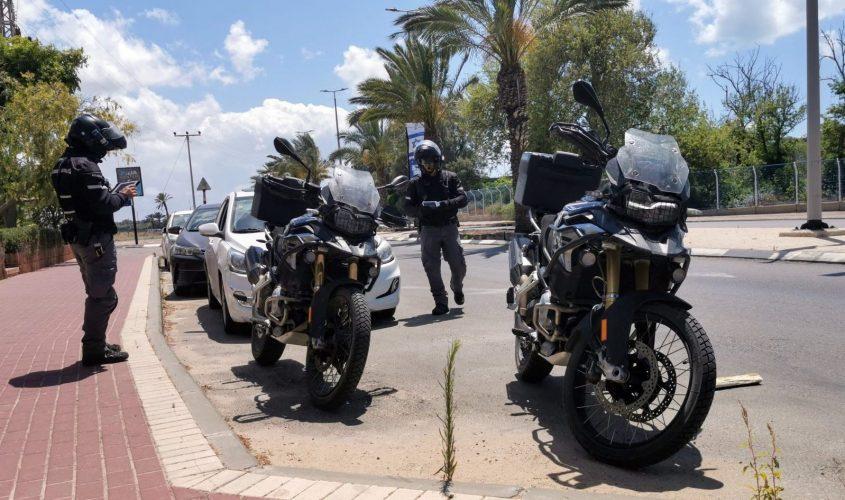 אופנועים משטרת התנועה