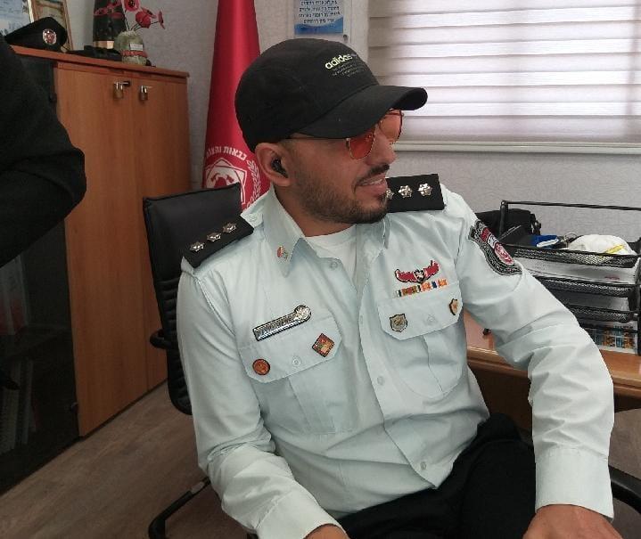 קצין הכיבוי דודו הראל