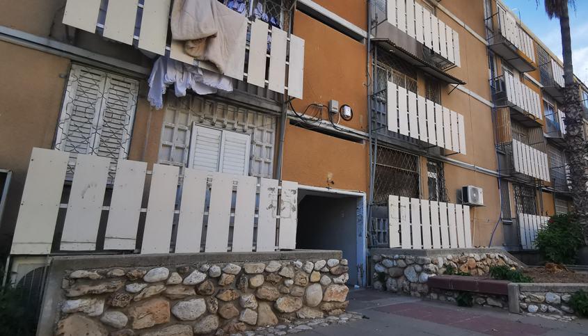 הבניין בו מתגוררים הזוג ברחוב אפרים צור