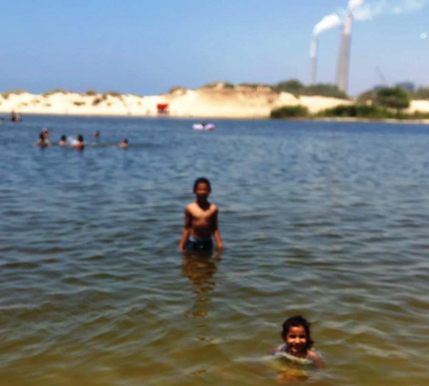 הילדים באגם לפני הטביעה