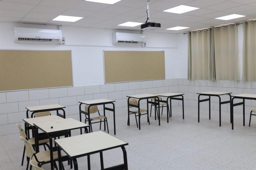 שיפוץ בית הספר מוריה. צילום: אלדד עובדיה