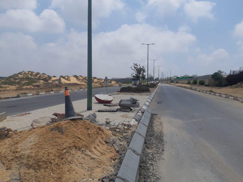 רחוב אליעזר בן יהודה לפני עבודות השדרוג וההרחבה. צילום: אלירם משה