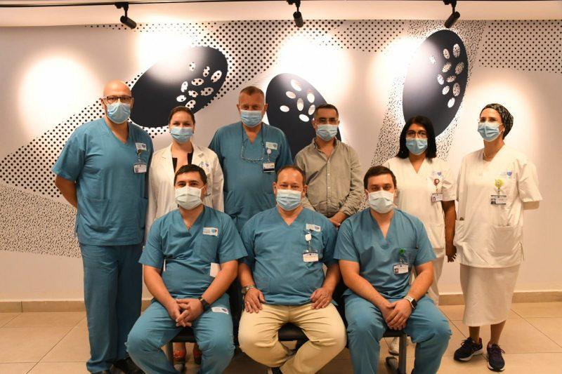 צוות אורולוגיה בברזילי. אביעוז דוד צילום רפואי, דוברות ברזילי