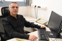 """ד""""ר עסלי מורד מונה למנהל המחלקה האורולוגית במרכז הרפואי ברזילי. אביעוז דוד צילום רפואי, דוברות ברזילי"""