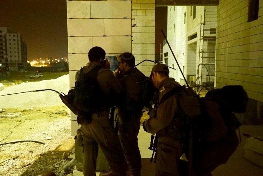 """חיילי חטיבת מנשה בתרגיל. צילום: דובר צה""""ל"""