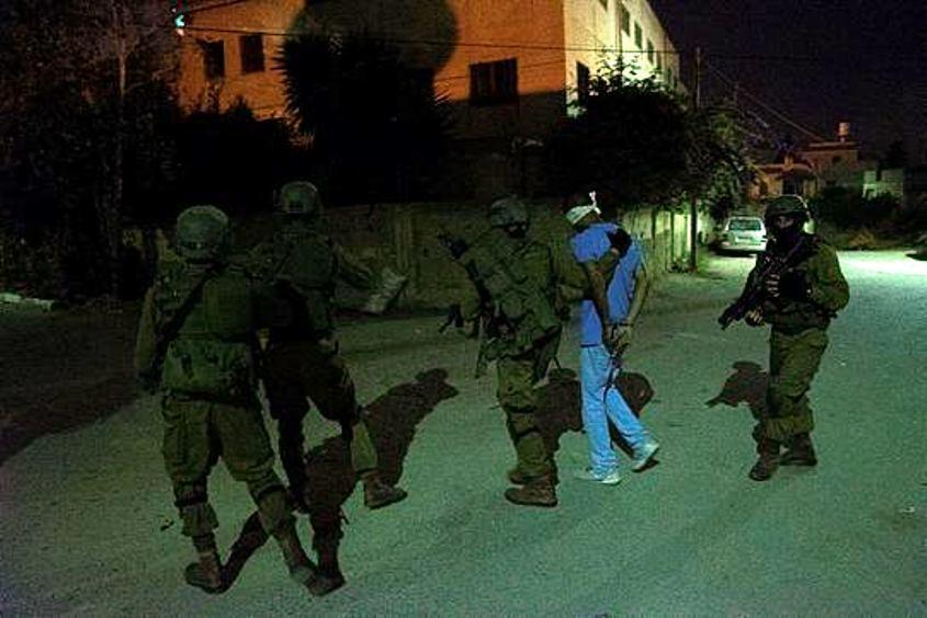 """פעילות חטיבת מנשה ללכידת מחבלים. צילום דובר צה""""ל"""