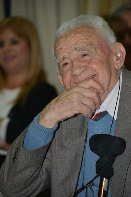 """ד""""ר מיכאל לביא, מנהלו הראשון של בית החולים ברזילי. צילום: דוברות ברזילי"""