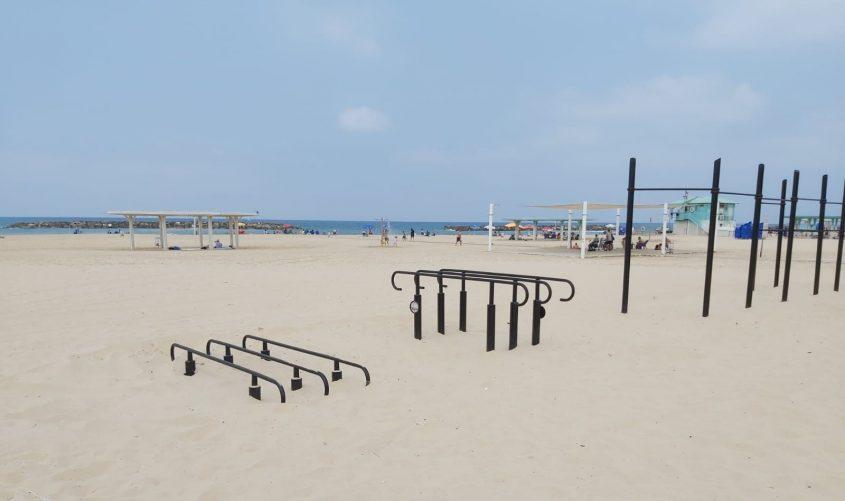 המתחם בחוף דלילה