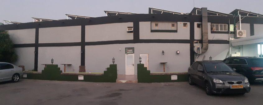 פאב הסנדק באזור התעשייה הצפוני באשקלון. צילום: אלירם משה