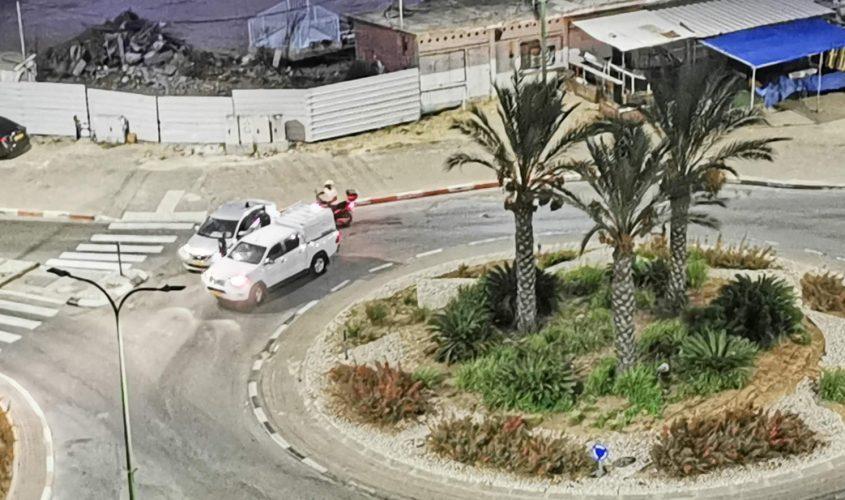 חסימה בכניסה לשכונת גבעת ציון
