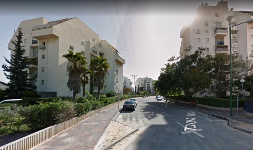 רחוב הנוער העובד אשקלון. מתוך: גוגל סטריט ויו