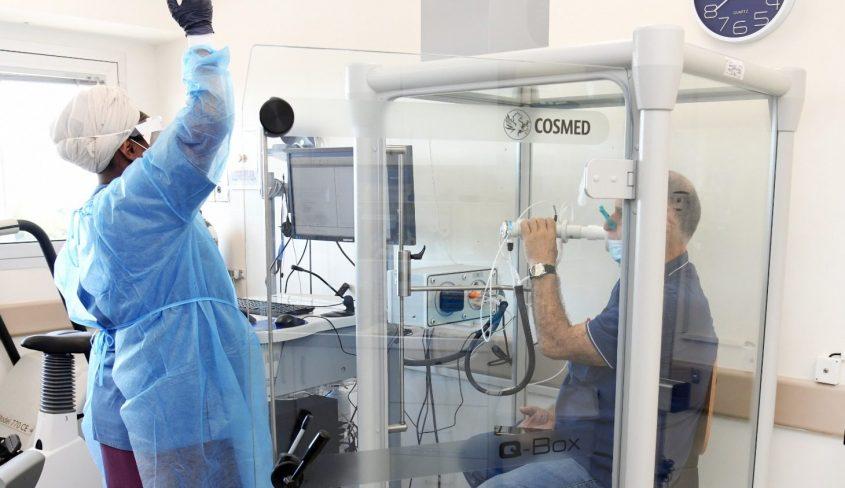 הפעילות במרפאת הקורונה בברזילי. צילום: מורן ניסים, צילום רפואי, דוברות ברזילי