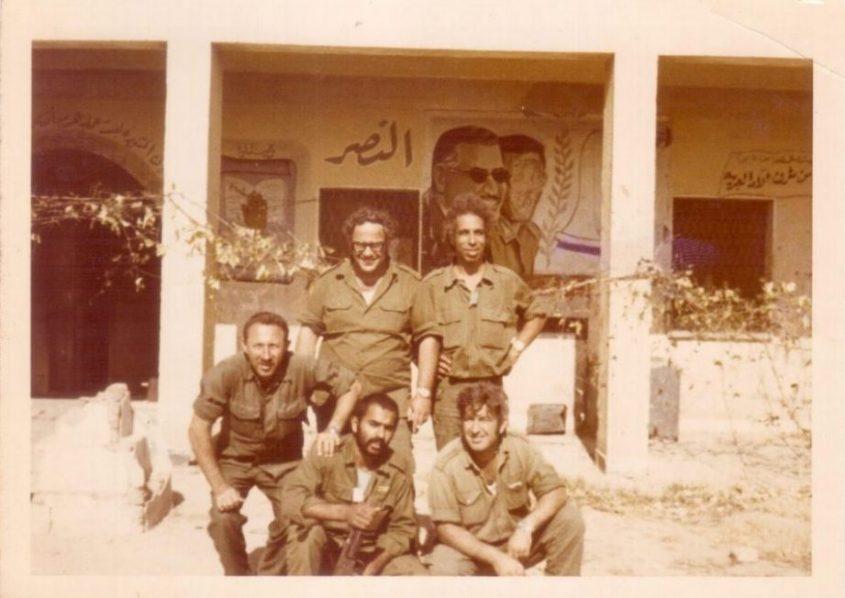 גד סובול בשירות הצבאי בשנת 1967 בסיני