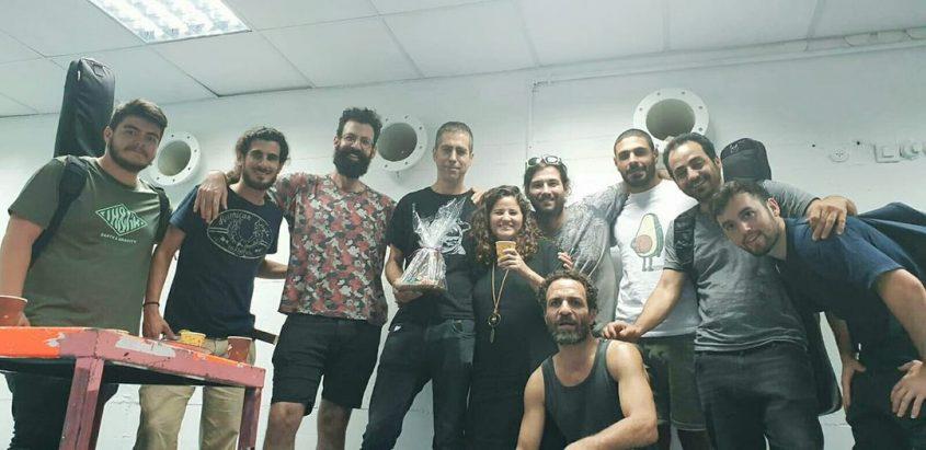 קבוצת מקורוק עם יהלי סובול