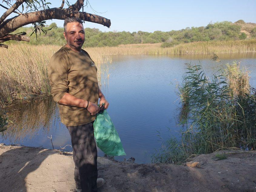 """מסיירים באגם ניצנים. צילום: יח""""צ"""
