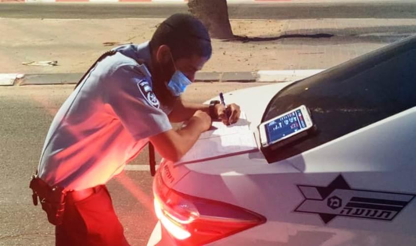 מפקח אסף צאולקר, ראש משרד התנועה באשקלון. צילום: דוברות המשטרה