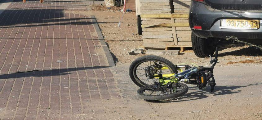 האופניים בזירת התאונה הקטלנית לפני זמן קצר