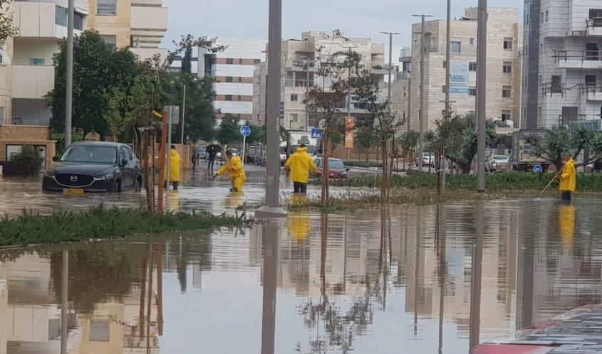 רחוב עמק יזרעאל בשכונת אגמים. צילום: אדי ישראל