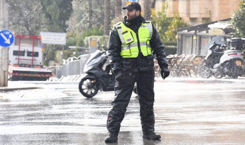 שוטר. צילום: דוברות המשטרה
