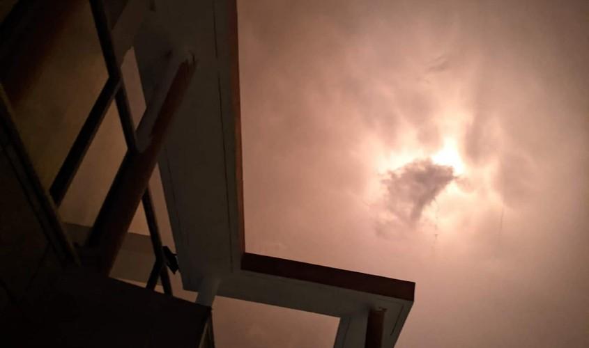 יירוטים בשמי אשקלון. צילום: אלירן זפרני