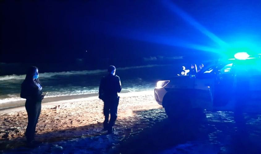 החיפושים בחוף. צילום: אלירם משה