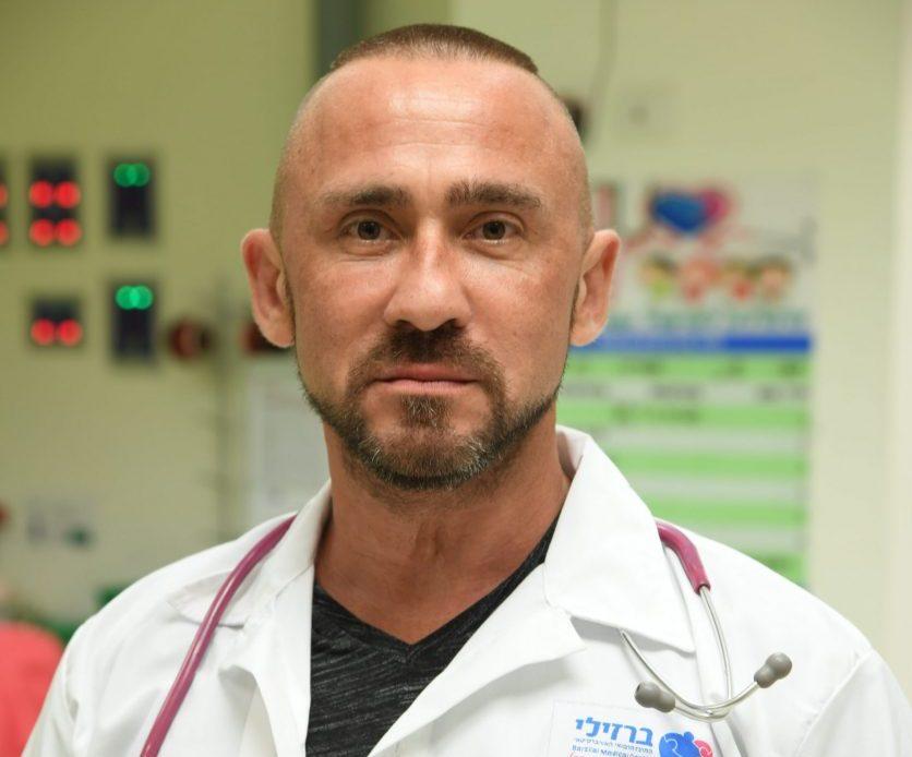 "ד""ר מיכאל קלינין. צילום: דוד אביעוז, צילום רפואי ברזילי"