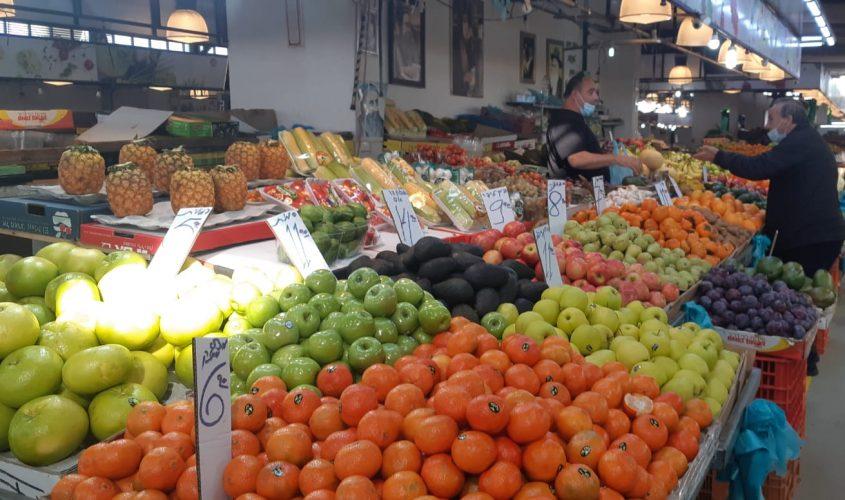 השוק באשקלון. צילום: אלירם משה