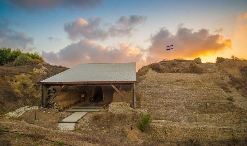 המצודה בגן לאומי אשקלון. צילום: מנו גרינשפן