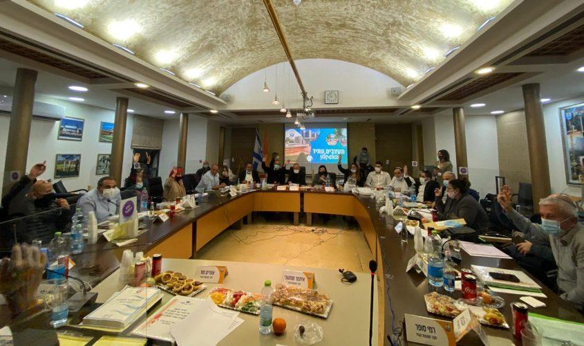 אישור תקציב העירייה. צילום: דוברות עיריית אשקלון