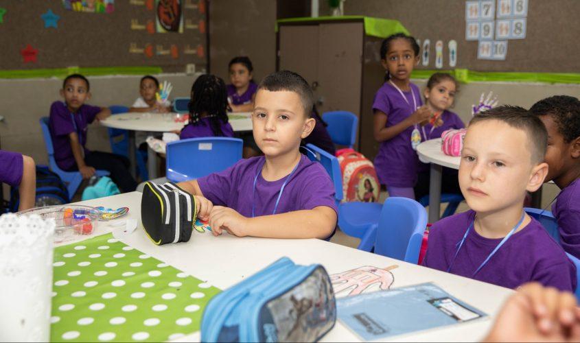 תלמידי כיתה א. צילום: סיון מטודי