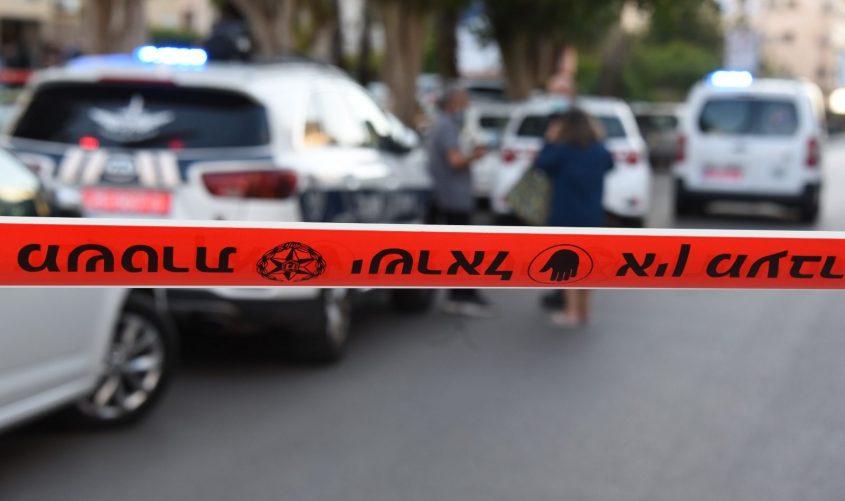 זירה. צילום ארכיון: דוברות המשטרה