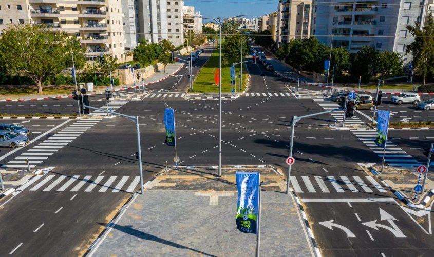 צומת צפניה-רבין. צילום: אדי ישראל