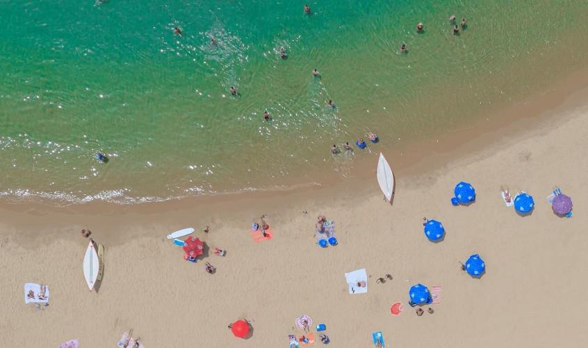 חוף הים באשקלון. צילום: אדי ישראל