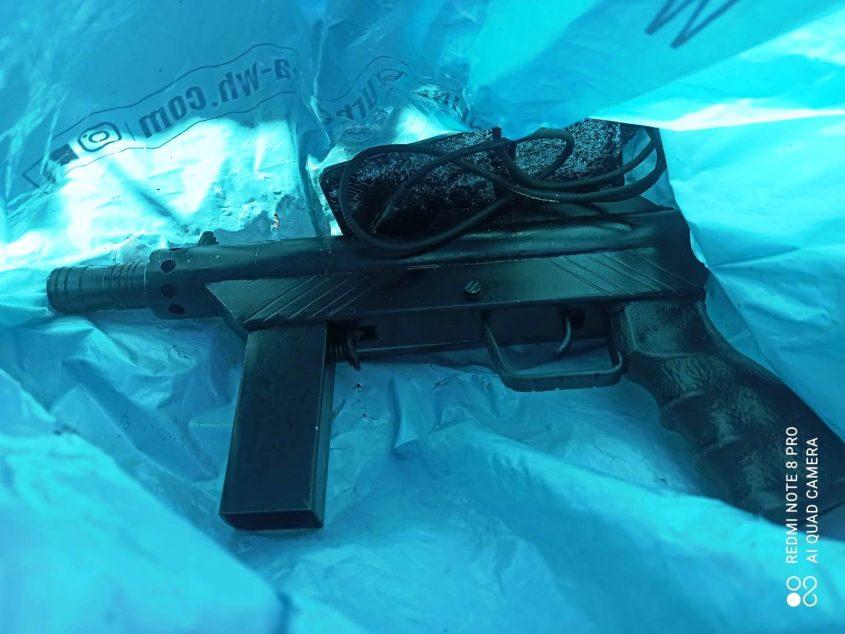 דומרני בני שלמה נשק רובה. צילום: דוברות המשטרה