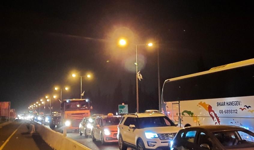 מחאת תושבי ניצן. צילום: נתנאל מויאל